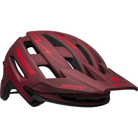Bell Super Air MIPS Helm, matte red/black fasthouse